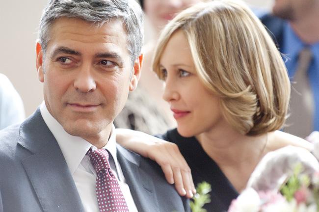 George Clooney (left) and Vera Farmiga in Up in the Air