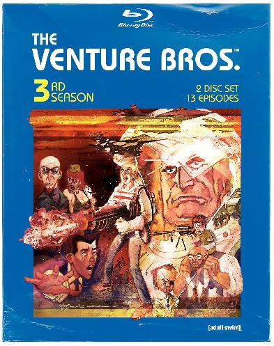 The Venture Bros.: 3rd Season will be released on Blu-Ray on March 24th, 2009.