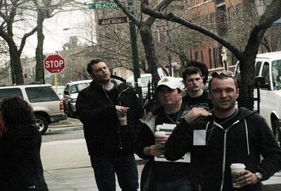 Vince Vaughn Filming TV Pilot on Wilson Avenue in Chicago's Uptown