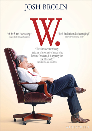W. was released on Blu-Ray on February 17th, 2009.