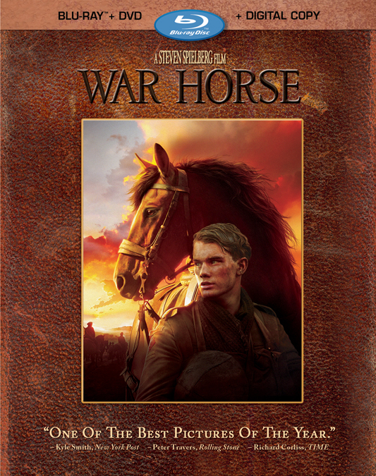 War Horse will be released on Blu-ray and DVD combo pack on April 3, 2012