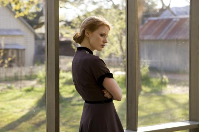 Jessica Chastain stars in Terrence Malick's The Tree of Life.