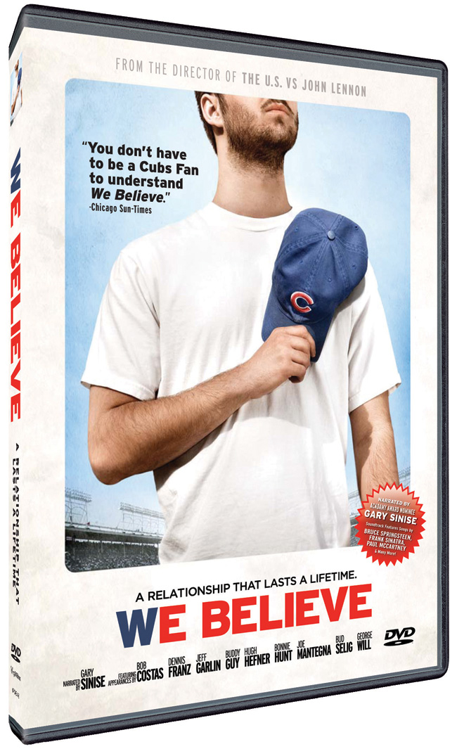 The DVD cover for We Believe