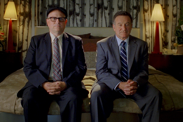 Robin Williams and Bobcat Goldthwait in WORLD'S GREATEST DAD, a Magnolia Pictures release.