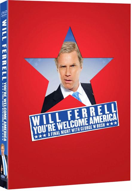 Will Ferrell: You're Welcome America: A Final Night With George W. Bush was released on DVD on November 3rd, 2009.