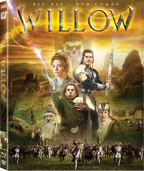 Willow was released on Blu-ray on March 12, 2013