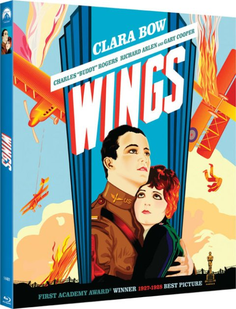 Wings was released on Blu-ray on January 24th, 2012.