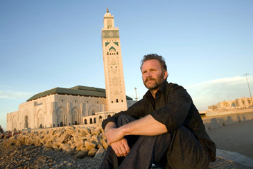 Morgan Spurlock in his new documentary Where in World is Osama Bin Laden?