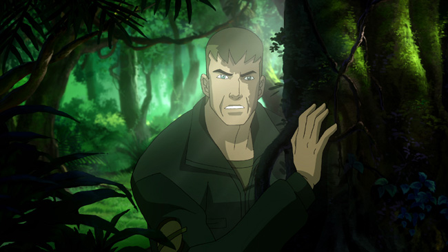 Steve Trevor gets his first look at the Amazons in Wonder Woman, the all-new DC Universe animated original movie will be distributed by Warner Home Video on March 3, 2009.