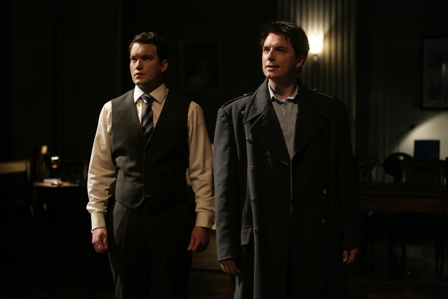 Torchwood: Children of Earth - Day 4 - (l to r) Ianto Jones (Gareth David-Lloyd) and Captain Jack (John Barrowman).