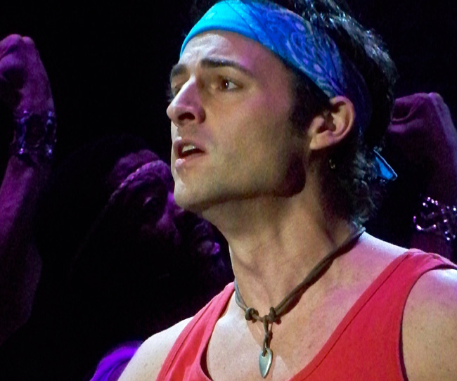 Max Von Essen stars as Sonny in Xanadu at the Drury Lane Theatre Water Tower Place