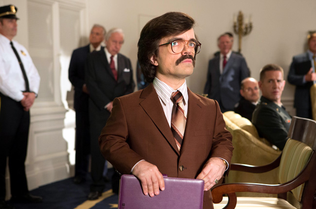 Peter Dinklage as Dr. Bolivar Trask in X-Men: Days of Future Past