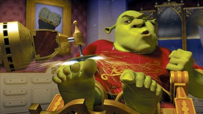 Shrek The Third Is Foxy Flirt Between Kid S Play Adult Wit