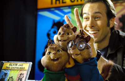 Jason Lee in Alvin and the Chipmunks
