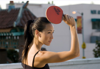 Maggie Q in Balls of Fury