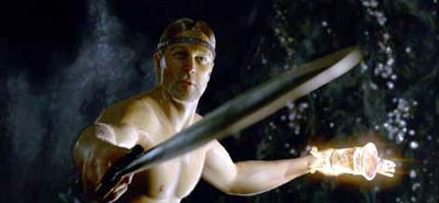 Ray Winstone as Beowulf in Beowulf