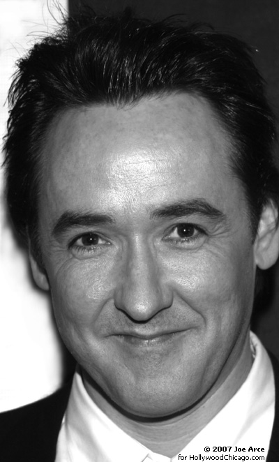 John Cusack in Chicago on Oct. 12, 2007 at the Chicago International Film Festival for Grace is Gone