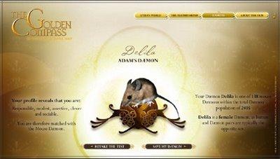 golden compass movie meet your daemon quiz