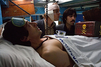 From left to right, Adrien Brody, Owen Wilson and Jason Schwartzman in The Darjeeling Limited