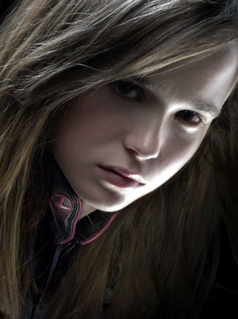 Juno star Ellen Page as Kitty Pryde in X-Men: The Last Stand