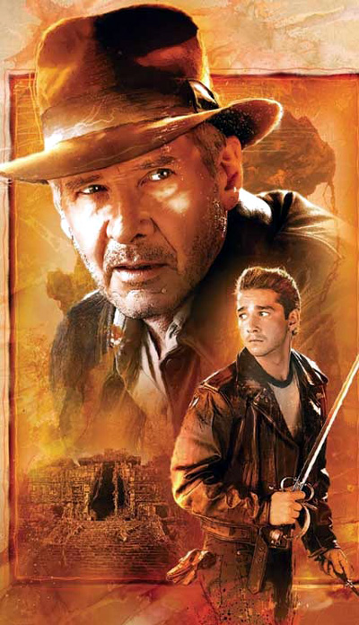 Indiana Jones and the Kingdom of the Crystal Skull comic book cover