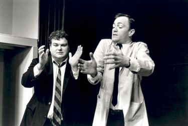 Jim Zulevic and Kevin Dorff (on right) at Second City