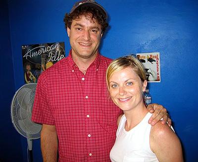 Matt Besser and Amy Poehler