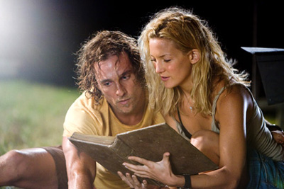 Matthew McConaughey and Kate Hudson in Fool's Gold, which is slated to open on Feb. 8, 2008