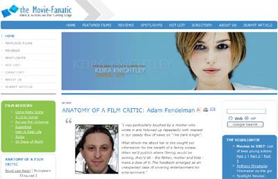 The Movie-Fanatic, HollywoodChicago.com