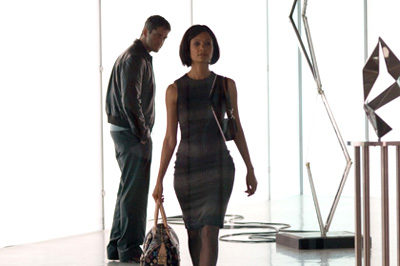 Thandie Newton and Gerard Butler in the 2008 film RocknRolla