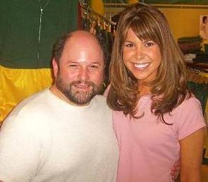 Jessica Radloff with Jason Alexander of Seinfeld