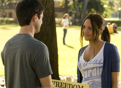 Matt Long and Amanda Bynes in Sydney White
