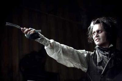Johnny Depp in Sweeney Todd: The Demon Barber of Fleet Street