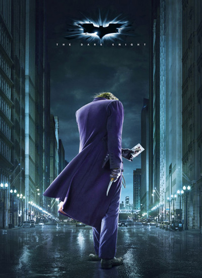 The Dark Knight Joker poster